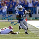 TYLER LOCKETT SIGNED AUTOGRAPHED AUTO 8x10 RP PHOTO KANSAS ST  GO CATS