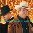 VEGAS CAST MICHAEL CHIKLIS AND DENNIS QUAID AUTOGRAPHED 8x10 RP PHOTO