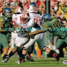 MONTEE BALL AUTOGRAPHED 8x10 RP PHOTO WISCONSIN BADGERS HEISMAN