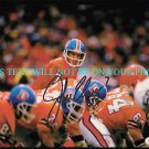 JOHN ELWAY SIGNED AUTOGRAPHED AUTO 8x10 PHOTO DENVER BRONCOS QB