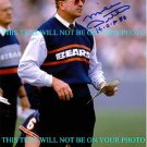 MIKE DITKA AUTOGRAPHED AUTO 8x10 RP HOF PHOTO DA BEARS CHICAGO