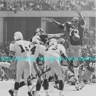 MEAN JOE GREENE AUTOGRAPHED 8x10 RP PHOTO PITTSBURGH STEELERS LEGENDARY GREEN