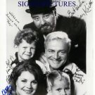 FAMILY AFFAIR CAST SIGNED AUTOGRAPHED 8x10 RP PHOTO SISSY BRIAN KEITH MR FRENCH +