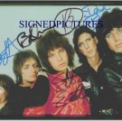 THE CARS GROUP AUTOGRAPHED SIGNED 8X10 RP PHOTO 80s ROCK BY ALL 5