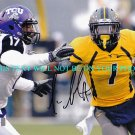 TAVON AUSTIN AUTOGRAPHED 8x10 RP PHOTO WEST VIRGINIA