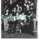 THAT 70's SHOW CAST AUTOGRAPHED 8x10 STUDIO PROMO PHOTO 70s ASHTON MILA KUNIS +