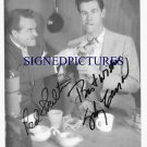 RED SKELTON AND JOHNNY CARSON AUTOGRAPHED 8x10 RP PHOTO GREAT COMEDY