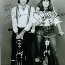 MORK AND MINDY AUTOGRAPHED 8x10 RP PHOTO ROBIN WILLIAMS AND PAM DAWBER
