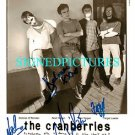 THE CRANBERRIES GROUP BAND AUTOGRAPHED 8x10 RP PHOTO ZOMBIE DOLORES O'RIORDAN