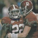 MARK INGRAM AND GREG McELROY AUTOGRAPHED 8x10 RP PHOTO ALABAMA DUO