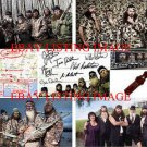 DUCK DYNASTY CAST AUTOGRAPHED 8x10 RP PROMO COLLAGE PHOTO DUCKMEN WILLIE SI +