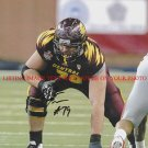 ERIC FISHER AUTOGRAPHED 8x10 RP PHOTO CENT MI #1 DRAFT PICK KANSAS CITY CHIEFS