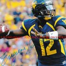 EUGENE GENO SMITH AUTOGRAPHED 8x10 RP PHOTO WVU WEST VIRGINIA QB