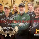 MOUNTED IN ALASKA CAST AUTOGRAPHED 8x10 RP PHOTO TAXIDERMY REALITY TV SHOW