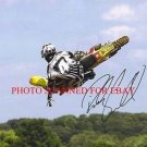 RICKY CARMICHAEL AUTOGRAPHED 8x10 RP PHOTO MOTOCROSS SUPERCROSS X GAMES
