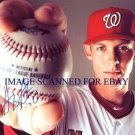 STEPHEN STRASBURG AUTOGRAPHED 8x10 RP PHOTO WASHINGTON NATIONALS