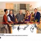 THE CHEW CAST AUTOGRAPHED 8x10 RP PROMO PHOTO