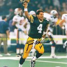 BRETT FAVRE AUTOGRAPHED AUTO 8x10 RP PHOTO GREEN BAY PACKERS WIN FARVE