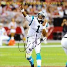 CAM NEWTON SIGNED AUTOGRAPHED AUTO 8x10 RP PHOTO CAROLINA PANTHERS QB