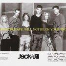 JACK & JILL CAST AUTOGRAPHED 8x10 RP PHOTO JAIME PRESSLY JUSTIN KIRK AMANDA PEET