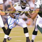 MICHAEL OHER AUTOGRAPHED AUTO 8x10 RP PHOTO BALTIMORE RAVENS