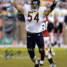 BRIAN URLACHER AUTOGRAPHED AUTO 8x10 RP PHOTO CHICAGO BEARS