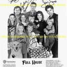 FULL HOUSE AUTOGRAPHED SIGNED CAST 8x10 RP PHOTO JOHN STAMOS BOB SAGET +