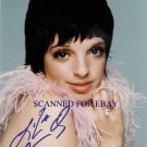 LIZA MINELLI AUTOGRAPHED 8x10 RP PHOTO SO BEAUTIFUL