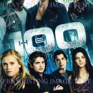 THE 100 CAST AUTOGRAPHED RP PHOTO GREAT SHOW CW