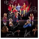 GLEE CAST SIGNED 8x10 RP PHOTO BY 8 COLFER AGRON LEA MICHELE CORY MONTEITH +