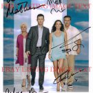 BURN NOTICE CAST SIGNED AUTOGRAPHED PHOTO BY 5 CAMPBELL VANCE +