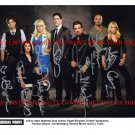 CRIMINAL MINDS CAST SIGNED AUTOGRAPHED 8x10 RP PHOTO BY 7 AJ COOK GUBLER SHEMAR MOORE +