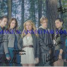 THE SECRET CIRCLE CAST SIGNED AUTOGRAPHED 8x10 PHOTO BY 7 NATASHA HENSTRIDGE BRITT ROBERTSON