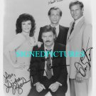 MIKE HAMMER CAST SIGNED AUTOGRAPHED RP PHOTO DETECTIVES