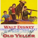 FESS PARKER AND DOROTHY McGUIRE SIGNED AUTOGRAPHED 8X10 RP PHOTO OLD YELLER