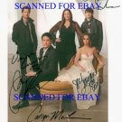 THE GHOST WHISPERER FULL CAST SIGNED AUTOGRAPHED 8x10 RP PHOTO JENNIFER LOVE HEWITT +