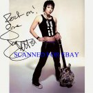 JOAN JETT AUTOGRAPHED SIGNED AUTOGRAM 8X10 RP PHOTO BLACKHEARTS & RUNAWAYS ROCK