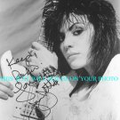 JOAN JETT SIGNED AUTOGRAPHED AUTOGRAPH 8X10 PHOTO RUNAWAYS I LOVE ROCK N