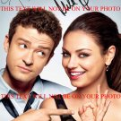 MILA KUNIS & JUSTIN TIMBERLAKE SIGNED RP PHOTO FRIENDS WITH BENEFITS