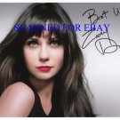 ZOOEY DESCHANEL SIGNED AUTOGRAPHED 8x10 RP PHOTO NEW GIRL