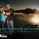 THE GLADES CAST AUTOGRAPHED 8x10 RP PHOTO KIELE SANCHEZ AND MATT PASSMORE