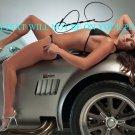 DANICA PATRICK SIGNED AUTOGRAPHED 8x10 RP PHOTO NASCAR SEXY