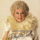 PHYLLIS DILLER AUTOGRAPHED 8x10 RP PHOTO GREAT HILARIOUS COMEDIAN