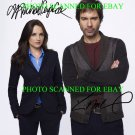 PERCEPTION CAST SIGNED AUTOGRAPHED 8x10 RP PHOTO RACHAEL LEIGH COOK AND ERIC MCCORMACK