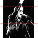 LOU REED SIGNED AUTOGRAPHED 8x10 RP STUDIO PROMO PUBLICITY PHOTO CLASSIC