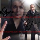 THE BLACKLIST CAST AUTOGRAPHED SIGNED 8x10 RP PHOTO MEGAN BOONE AND JAMES SPADER