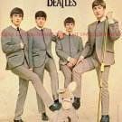 THE BEATLES JOHN PAUL GEORGE AND RINGO SIGNED AUTOGRAPH AUTOGRAPHED 8x10 RP PHOTO FAB 4