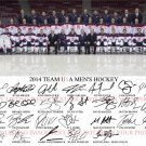 US MENS OLYMPIC HOCKEY TEAM SIGNED AUTOGRAPHED BY 26 8x10 RP PHOTO TJ OSHIE + USA SOCHI OLYMPICS