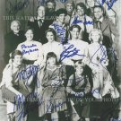 THE LITTLE HOUSE ON THE PRAIRIE CAST AUTOGRAPHED 8x10 RPT PHOTO BY 14