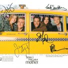 HOW I MET YOUR MOTHER SIGNED AUTOGRAPHED CAST 8x10 RPT PHOTO ALL 5 COBIE SMULDERS HANNIGAN